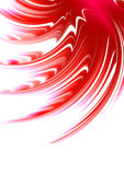 Abstract red star. Fragment of abstract brightly red star Stock Photos