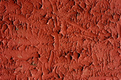 Abstract red stucco wall background Stock Photos