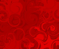 Abstract red swirl background Royalty Free Stock Images