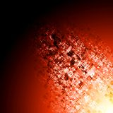 Abstract red tech background Stock Images