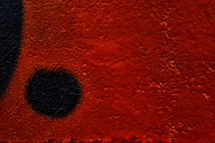 Abstract red textured background with black. Abstract textured background with black dots and smooth areas Stock Photo