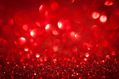 Abstract red twinkled christmas background royalty free stock photography