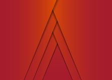 Abstract red vector background Stock Photo