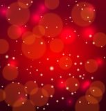 Abstract red vectoral background. Abstract vectoral background with space blured flares Stock Images