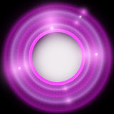 Abstract red and violet background with circles Stock Photos