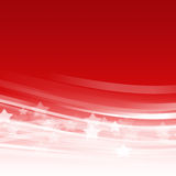 Abstract red wave background Royalty Free Stock Images