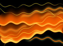 Abstract red waves background Stock Photo