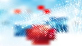 Free Abstract Red White And Blue Shiny Crossing Lines Background Illustration Stock Image - 162503391
