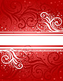 Abstract red-white background Royalty Free Stock Image
