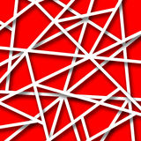 Abstract red and white background Stock Images