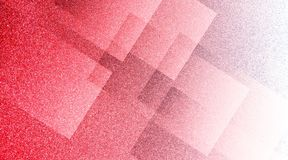 Abstract red and white background shaded striped pattern and blocks in diagonal lines with vintage blue red and white texture. Many uses for advertising, book royalty free illustration