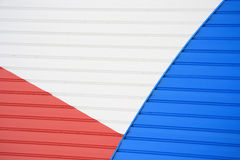 Abstract Red White and Blue Stock Images