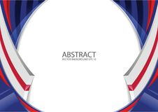 Free Abstract Red White Blue Background Stock Images - 112552334