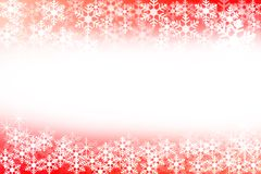 Abstract red and white christmas background Stock Images