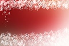 Abstract red and white christmas background Stock Photos