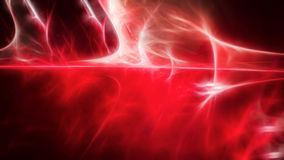 Abstract red and white glowing light. Abstract energy background in 4K resolution Royalty Free Stock Image