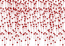 Abstract red and white hand splatter background. Red and white hand splatter background Stock Image