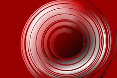 Abstract red and white round-able Background. Vector Illustration Royalty Free Stock Images
