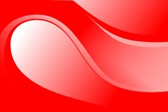 Abstract red and white wave background, Abstract red waves in red and white tone. Many uses for you Royalty Free Stock Images