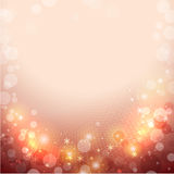 Abstract red winter background. With snowflakes Royalty Free Stock Image