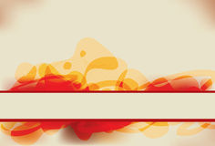 Abstract red and yellow background Royalty Free Stock Photo