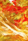 Abstract red and yellow background. High resolution abstract red and yellow painted background Stock Photography