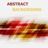 Abstract red and yellow geometric overlapping background Stock Photo