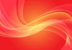 Abstract red yellow wave curve light motion modern futuristic background vector. Illustration vector illustration