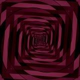 Abstract reddish spiral pattern Stock Photo