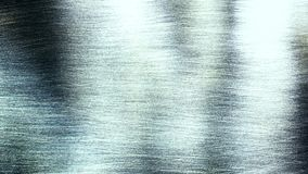 Abstract reflection in metal stock footage