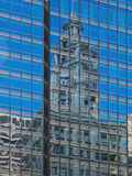 Abstract Reflections Architecture Royalty Free Stock Photos