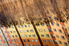 Abstract reflections Stock Image