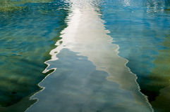 Abstract reflections Royalty Free Stock Image