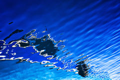 Abstract Reflections on Sea Surface Stock Photography