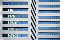 Abstract Reflections on skyscraper Stock Photography