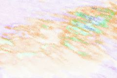 Abstract refraction colorful background Stock Photography