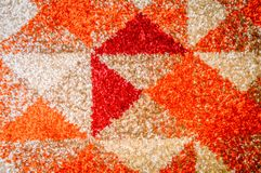 Abstract regelmatig gestreept naadloos patroon Geometrische vorm royalty-vrije stock foto's