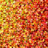 Abstract regular triangle tile mosaic background - gradient polygon vector graphic design Royalty Free Stock Image