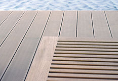 Abstract relax at the pool Stock Photography