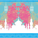 Abstract religious background - Ramadan Kareem Design. Abstract religious background - Ramadan Kareem Vector Design Stock Photo