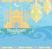 Abstract religious background - Ramadan Kareem Stock Photography