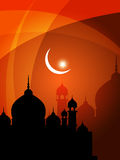 Abstract religious eid background Royalty Free Stock Image