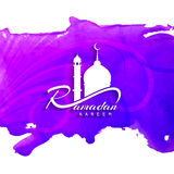 Abstract religious elegant ramadan kareem background. Abstract religious ramadan kareem vector background Stock Images