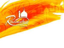Abstract religious ramadan kareem bright watercolor background Stock Photos