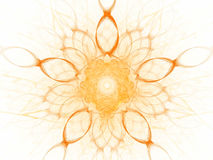 Abstract Render. A beautiful rendered fractal image Royalty Free Stock Photo