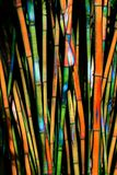 Abstract Rendition of Bamboo Forest royalty free stock photo