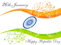 Abstract republic day wallpaper Royalty Free Stock Photos