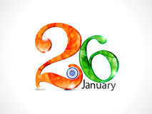 Abstract republic day wallpaper Stock Image