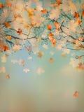 Abstract retro autumn background. EPS 10 Royalty Free Stock Image