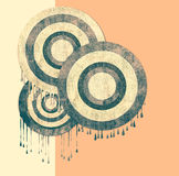 An abstract retro background Stock Images